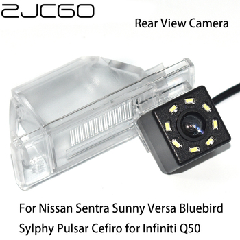 ZJCGO Car Rear View Reverse Back Up Parking Camera for Nissan Sentra Sunny Versa Bluebird Sylphy Pulsar Cefiro for Infiniti Q50 image