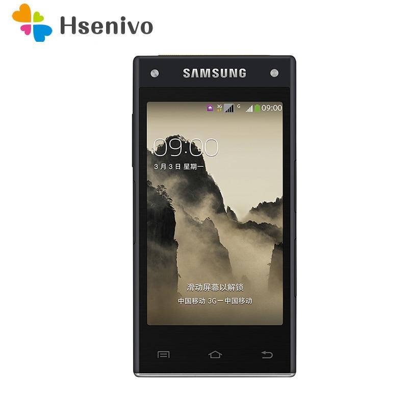 100% Original Unlocked Flip Samsung G9098 Dual Sim Phone 3.7 Inch 2GB Ram 32GB ROM Quad Core 13.0MP Mobile Phone Free Shipping