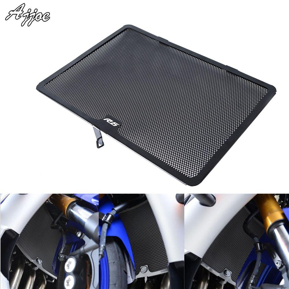 JFG RACING Black Racing Street Bike Chain Guards Cover Shield Protection For Yamaha R6 2003-2005 YZF-R6S 2003-2010