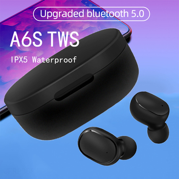 A6S TWS In-ear Bluetooth 5.0 Earphone Mini Wireless Earbuds Stereo Headsets redmi airdots Audifonos Para Celular elari nanopods 1