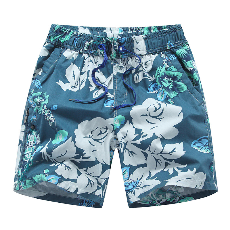 Short Men's Seaside Holiday Hot Springs AussieBum Set Trend Shorts Quick-Drying Loose-Fit Beach Shorts Support
