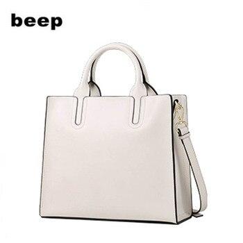 New women genuine leather bag Superior cowhide fashion printing Luxury shoulder womens