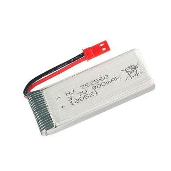 3,7 V 900mah lipo batería para 8807 de 8807W A6 A6W M68 Rc Quadcopter de piezas de repuesto de drones 3,7 v batería recargable 752560 1 Uds a 20p