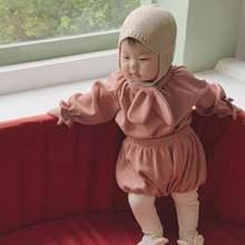 Детская одежда Корейском стиле для новорожденных мальчиков и