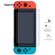 Oppselve 9H Tempered Glass Screen Protector Eye Protection For Nintend Switch Toughened Film Accessories