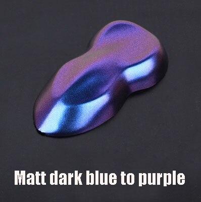 Премиум матовая/блестящие Меняющие цвет с перламутровым блеском виниловая наклейка на машину весь корпус обёрточная пленка Алмазный Блеск для винилового пленки - Color Name: Matt dark blue