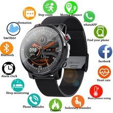 LIGE 2021 ECG+PPG Heart rate monitor Smart watch Men Waterproof Sport Fitness watch Activity tracker smartwatch for xiaomi IOS