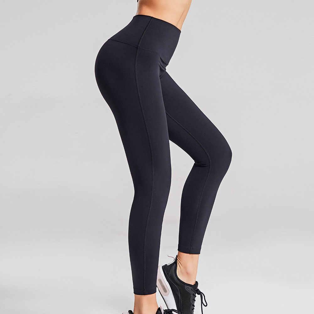 Cao Cấp Khỏa Thân Cảm Giác Quần Legging Đẩy Lên Thể Thao Nữ Tập Thể Dục Chạy Tập Yoga Năng Lượng Liền Mạch Quần Legging Tập Gym Gái Chân