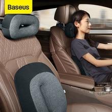 Baseus – oreiller de taille flottant pour voiture, couvre-siège en mousse à mémoire de forme 3D, pour le cou et les lombaires