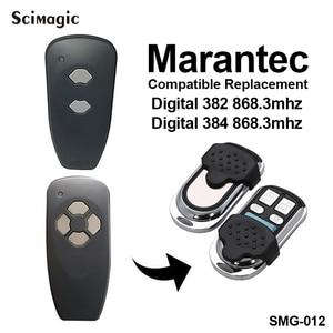 Image 4 - Marantec 디지털 868 MHz 차고 문 게이트 원격 제어 키 fob MARANTEC 핸드 헬드 송신기 차고 명령 컨트롤러 868.3