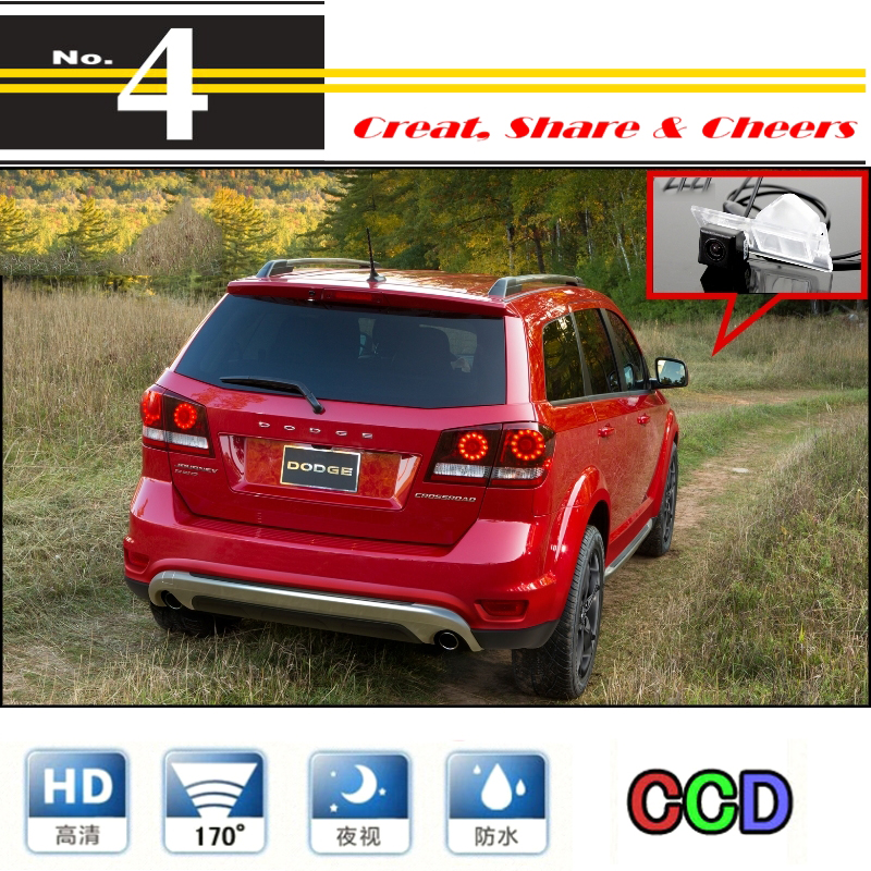 Auto Kamera Für Dodge Journey/JC/JCUV 2008 ~ 2015 Hohe Qualität Rückansicht Back Up Kamera Für PAL/NTSC Verwenden | CCD mit RCA