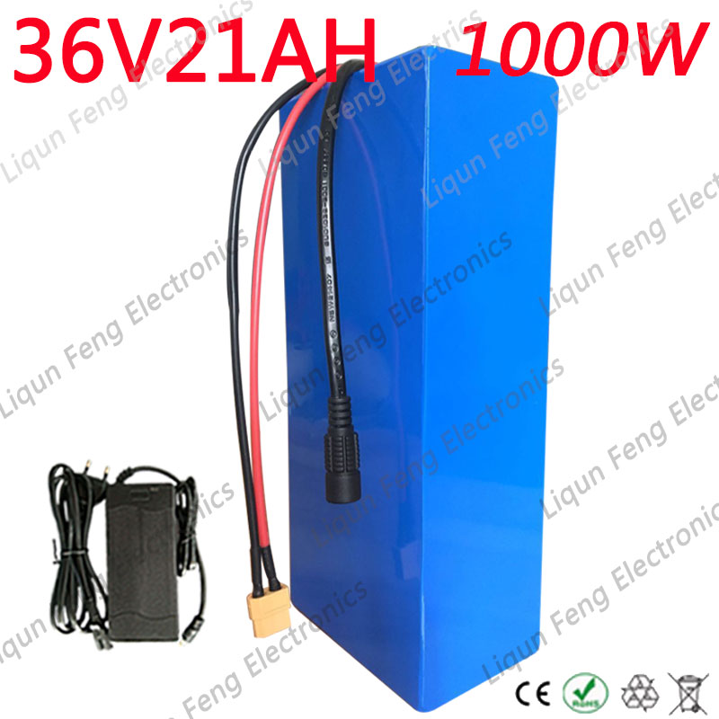 Hot Sale 36v Lithium Battery 36v 20ah Electric Bike Battery 36 V 20ah 1000w Scooter Battery With 30a Bms 42v 2a Charger Factory Direct Selling Price