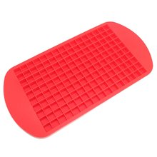 silicone Ice Cube Tray Mold Diamond Shape 160 Grids Cream Maker Mould Fruit Molds