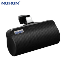 NOHON 3000mAh Mini Power Bank For Apple Micro Type C Interface For iPhone Samsung Xiaomi Portable