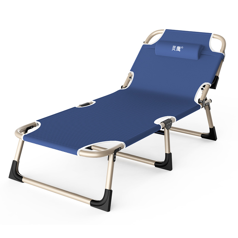 Folding Bed, Sheet, Simple Office, Midday Break, Sleeping Bed, Multifunctional Adult Folding Chair, Lifting Chair, Marching