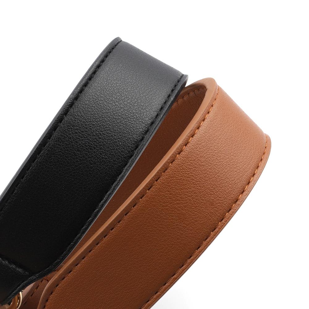 Leather Shoulder Strap Wide Strap Handle Belt Band for Women Handbag Handmade DIY Belt Strap for Bag Accessories