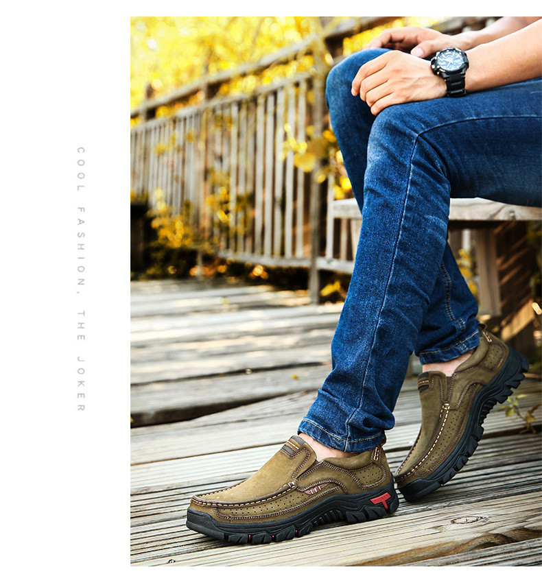 Hbeba32db641e4e6da6ea031ea9bb4890U ZUNYU New Genuine Leather Loafers Men Moccasin Sneakers Flat High Quality Causal Men Shoes Male Footwear Boat Shoes Size 38-48