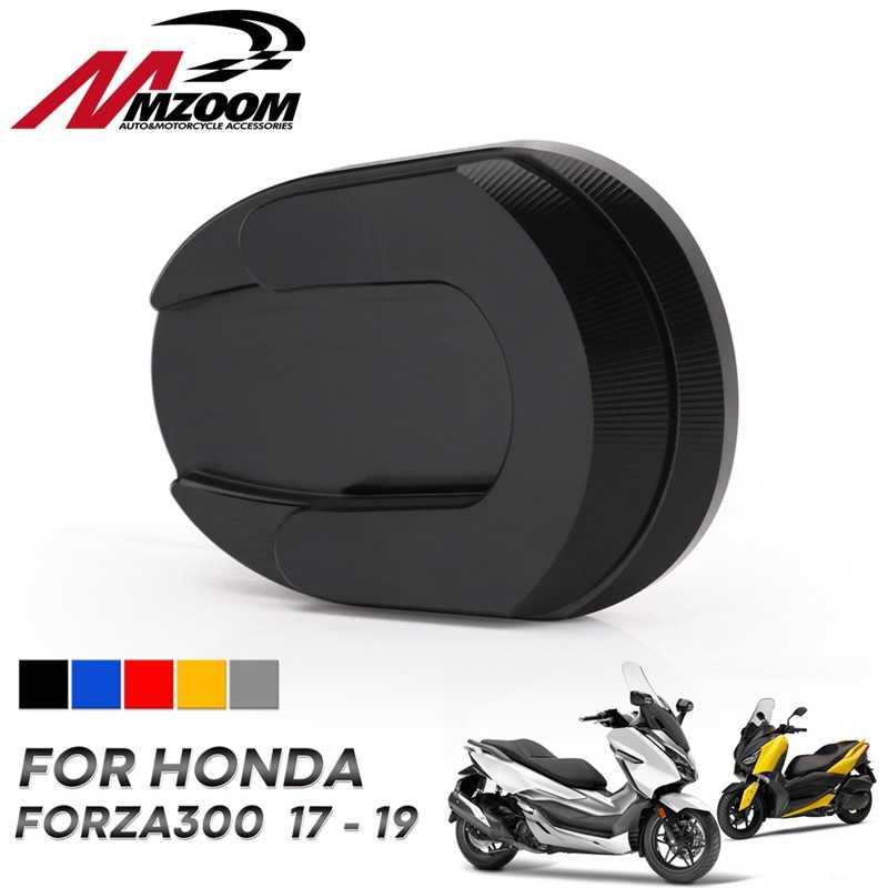 Ayak yan Kickstand uzatma genişletme pedi yan standı destek plakası Honda Forza300 Forza 250 Forza 125 MF13 2018 2017 2019