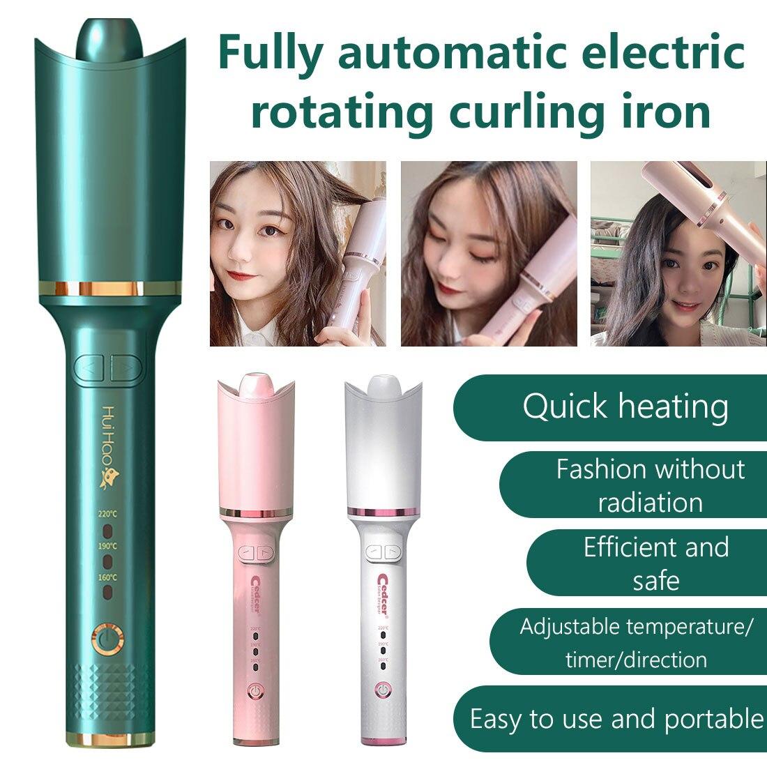 Curling Ferro automático Air Curler Cerâmica Rotativa