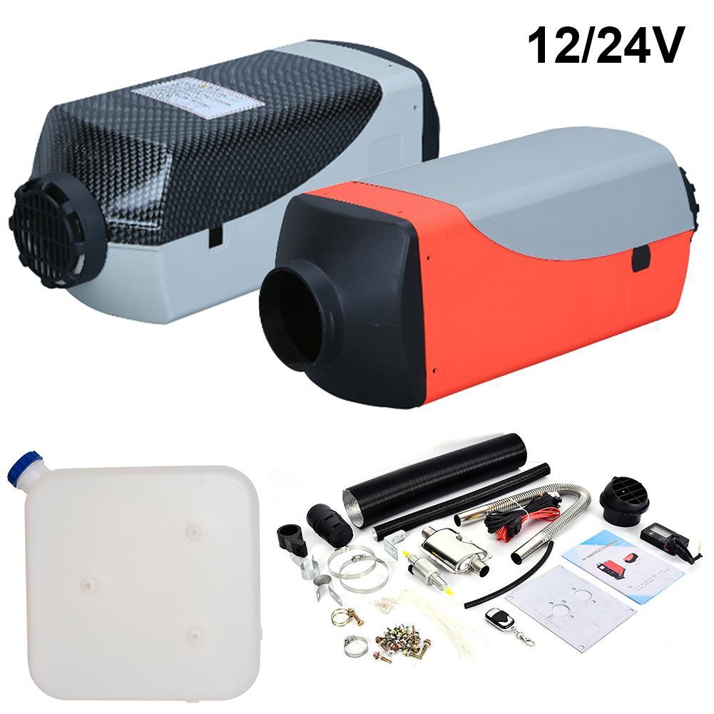Voiture Parking Heater12V24V 5KW chauffage auxiliaire chauffage diesel Air fioul chauffage Machine pour camions bus bateau et télécommande