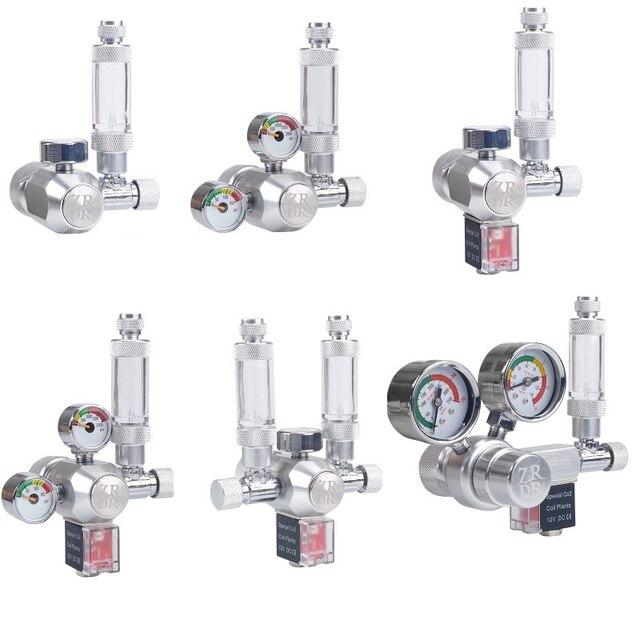 DC12V Aquarium Wyin CO2 Regulator Met Terugslagklep Bubble Counter Magnetische Magneetventiel