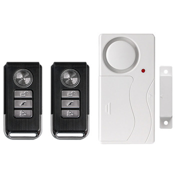 Wireless Home Security Alarm Bell Kit Window Door Magnetic Sensor Detector Home Safety System Alert Alarm with 2 Remote Control yobang security metal remote control wireless line gsm home safety system lcd display door sensor wire alarm detector pir alarm