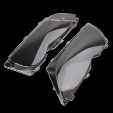 2021 New 2 Pcs/Pair Headlight Lenses Replacement Left&Right Headlamp for bmw E46 4 DR