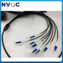 8 il centro 100M 150M 200M MM OM3 300 8C LC/SC/FCUPC LC/UPC DVI allaperto impermeabilizza il Multi cavo a fibra ottica corazzato del cavo di toppa di modo