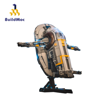 MOC Star Movie New Slave I–20th Anniversary Edition Slave NO.1 Wars Spaceship Building Blocks Lepining Star Space Kid Toys 05155 2020 new star wars the empire strikes back 20th anniversary edition building blocks model bricks classic for children toys gift