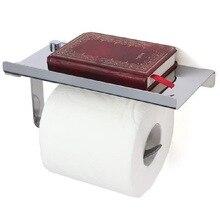 Дыропробивная 304 нержавеющая сталь для ванной комнаты вешалка для полотенец коробка туалетная бумага подставка для конусов подставка для мобильного телефона ванная комната Пенда