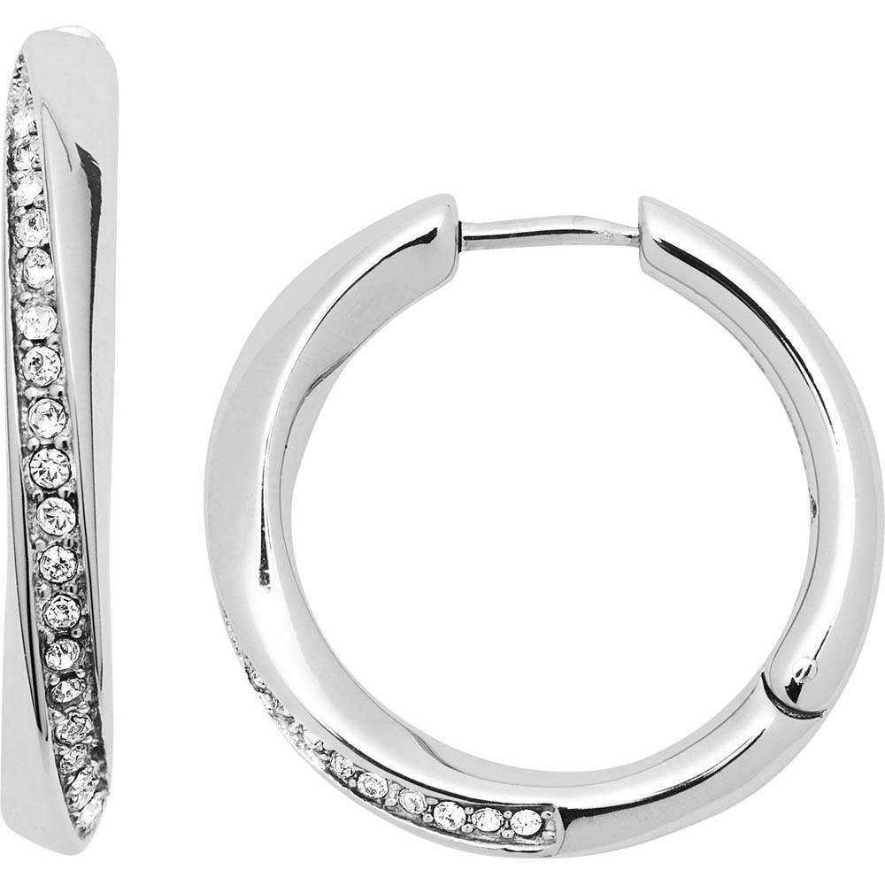 Jewelry Hoop Earrings Fossil for womens JF03015040 Jewellery Womens Earrings Jewelry Accessories Bijouterie fringe tassel hoop drop earrings