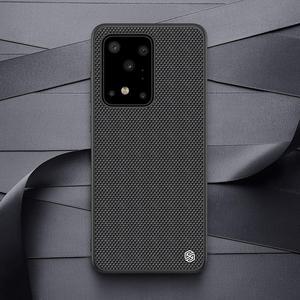 Image 5 - NILLKIN funda de teléfono texturizada para Samsung Galaxy S20/S20 Plus/S20, cubierta trasera esmerilada de negocios de lujo antideslizante de fibra de nailon Ultra