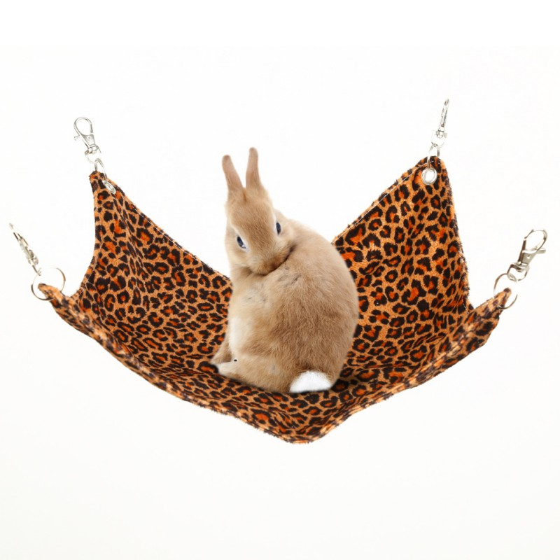 Pet Hammock Hamster Hang Mat Guinea Pig Chinchilla Rabbit Cage For Hamsters Pet Sleeping Hammock Hanging Bed Accessories