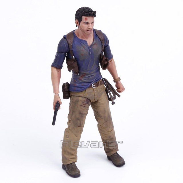 """NECA 7"""" Uncharted 4 A Thiefs End NATHAN DRAKE Ultimate Action Figure Collectible Model Toy"""