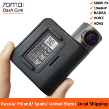 70mai Pro Dash Cam 1944P GPS ADAS Car Camera Dvr 70 mai Auto Dashcam Voice Control 24H Parking Monitor WIFI Vehicle