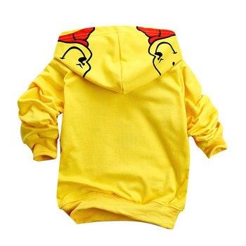 Edward Bear Vigny Winnie Boys Girls casual Sweatshirt Kids Hoodies Long Sleeve Sweatshirt Children Clothes 3