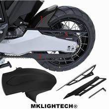 For HONDA X-ADV X ADV 300 750 1000 2017-2019 Motorcycle CNC Chain Cover Protector + ABS Mudguard Rear Wheel Fender