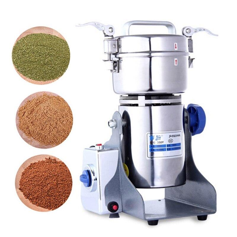 800g café moedor de alimentos secos moinho máquina moagem gristmill casa medicina farinha pó triturador grãos