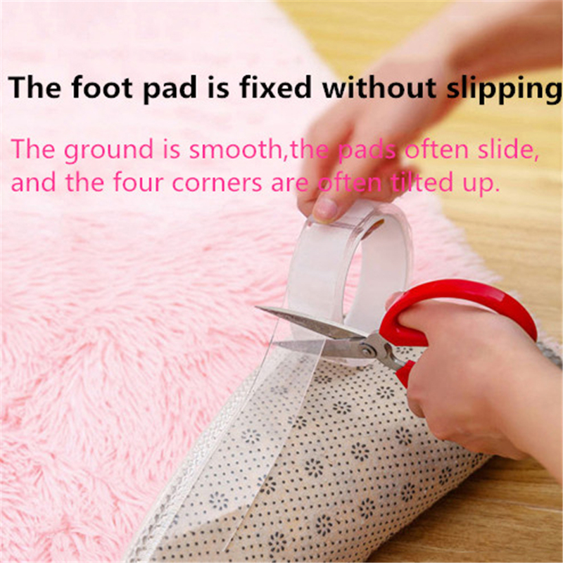 1 M Reusable Double Sided Adhesive No Traceless Electical Tape Removable Sticker Washable Adhesive Loop Disks Tie Glue Gadget in Tape from Home Improvement