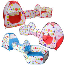 3 шт./компл. детский тент для игры мяч бассейн Детская палатки-Типи бассейн яма детские палатки дом Ползания туннель океан детская палатка
