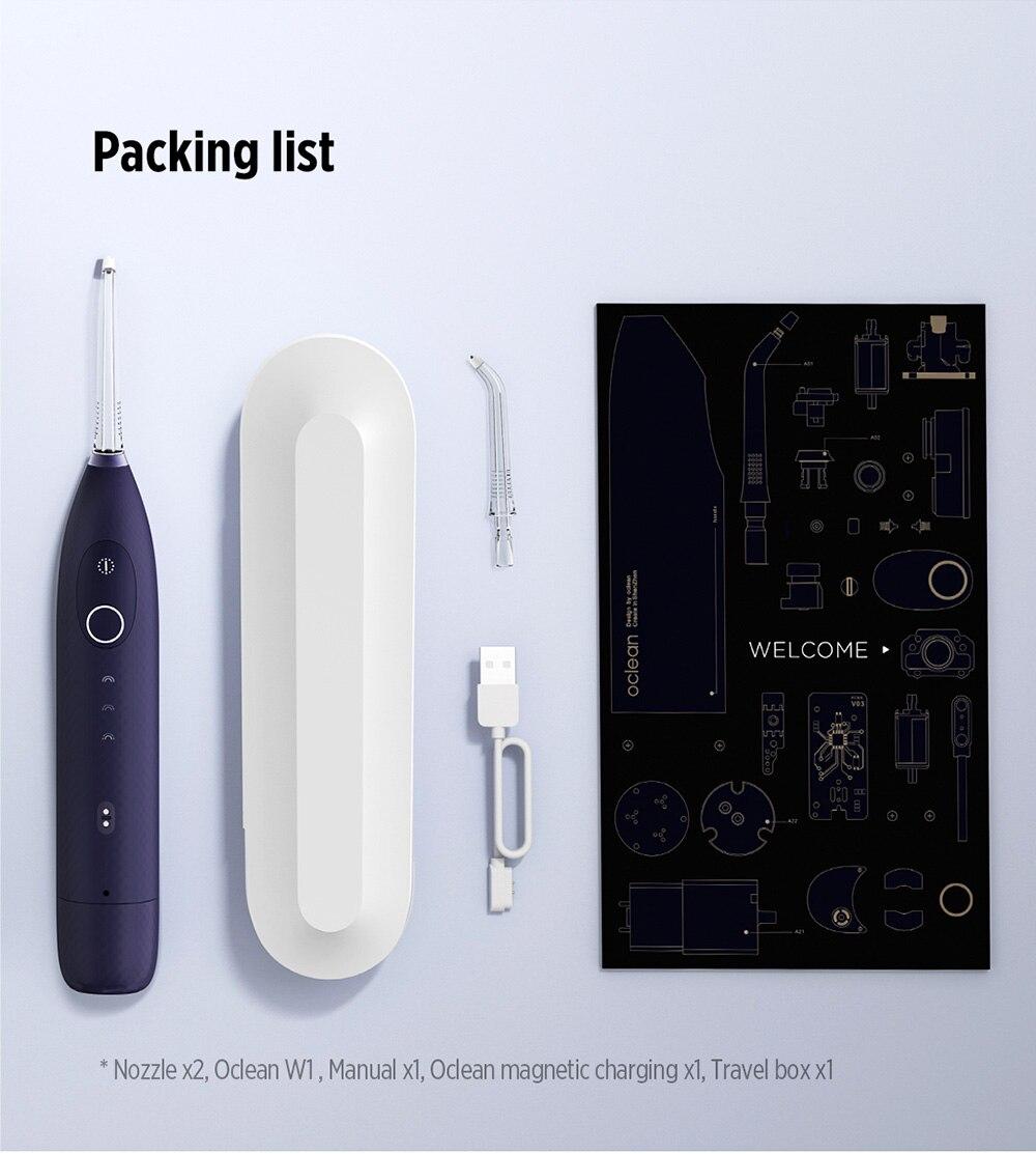 Oclean W1, el nuevo irrigador dental del socio de Xiaomi