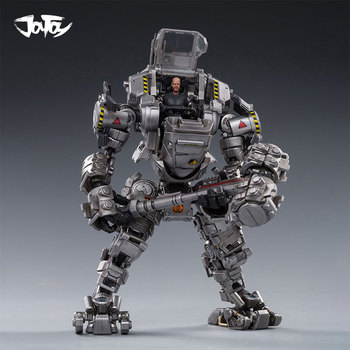 1/25 JOYTOY Action Figure H02 Silver STEEL BONE ARMOR Mecha And Military Soldier Figure Model Toys Collection Free Shipping [show z store] joytoy source acid rain mecha ht01 iron skeleton transformation action figure