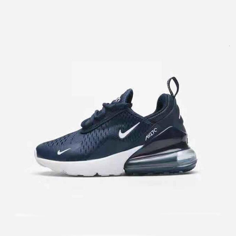 Nike Air Max 270 (gs) original Neue Ankunft Kinder Schuhe Atmungsaktiv Laufschuhe Im Freien Bequeme Sport Turnschuhe #943345 400