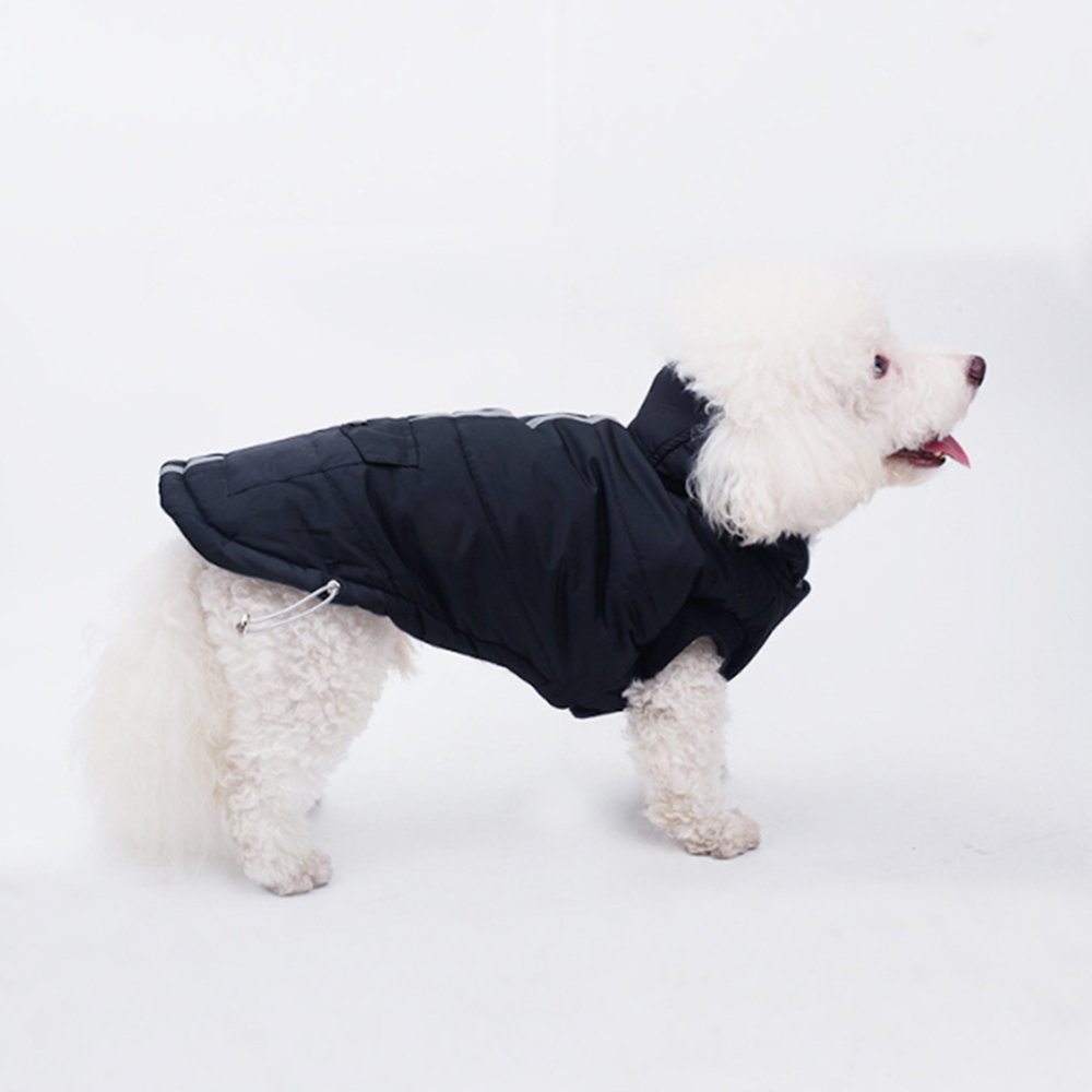 Pets Dog Vest Clothes Hoodie Coat Security Reflective Safety Luminous Pet Winter Jacket Autumn And New