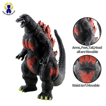 18cm Big Kaiju Anime Action Figures Dinosaur Figure PVC Figure Toy Brinquedos For Boy Gift Model Collection Toys цена 2017