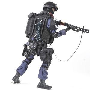 Image 5 - PATTIZ High end simulation 1/6 Skala Military Solider SWAT angriff hand soldat Set modell Figuren Montieren spielzeug für Kinder