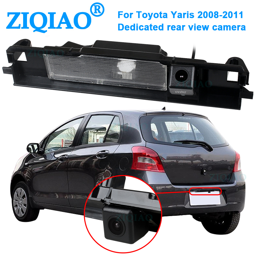 ZIQIAO for Toyota Yaris 2008-2011 Rear View Camera HD Night Vision Parking Reverse Camera HS003