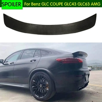 Car Rear Wing Spoiler For Mercedes Benz GLC class COUPE GLC43 GLC63 AMG 2017 2018 2019 Carbon Fiber rear trunk spoiler