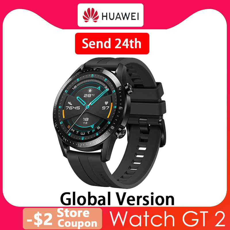 Huawei Watch GT 2 Smart watch Bluetooth Smartwatch 5.1 14 Days Battery Life Phone Call Heart Rate For Android iOS|Smart Watches| - AliExpress
