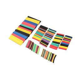 164pcs/Lot Heat Shrink Tube Kit Shrinking Assorted Polyolefin Insulation Sleeving Heat Shrink Tubing Wire Cable New Upgrade